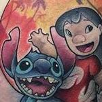 Tattoos - New School Lilo and Stitch - 116029
