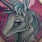 Tattoos - New School Unicorn From