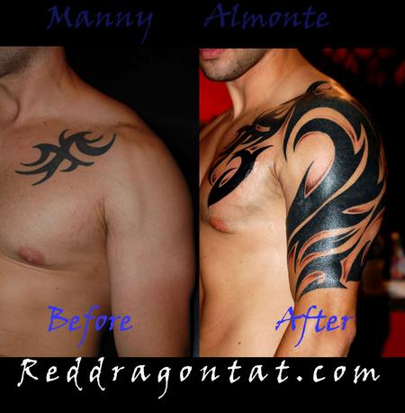 Tattoos - Tribal Coverup - 86050