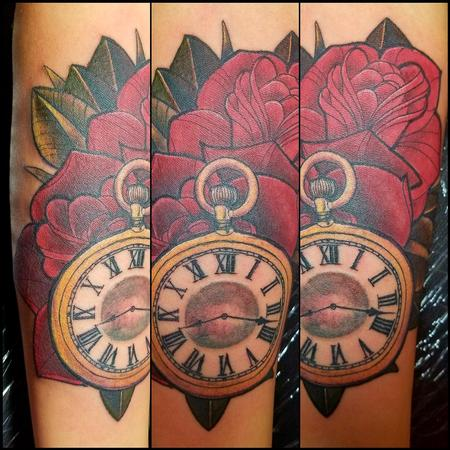 Tattoos - traditional Roses - 129619