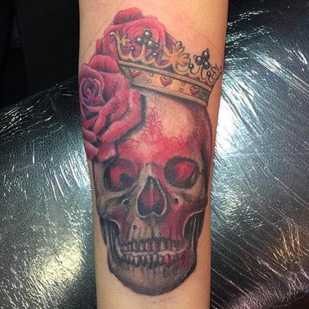 Tattoos - Skull - 116112