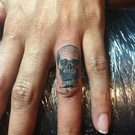 Tattoos - Skull - 115021