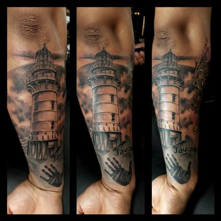 Tattoos - Lighthouse - 122058