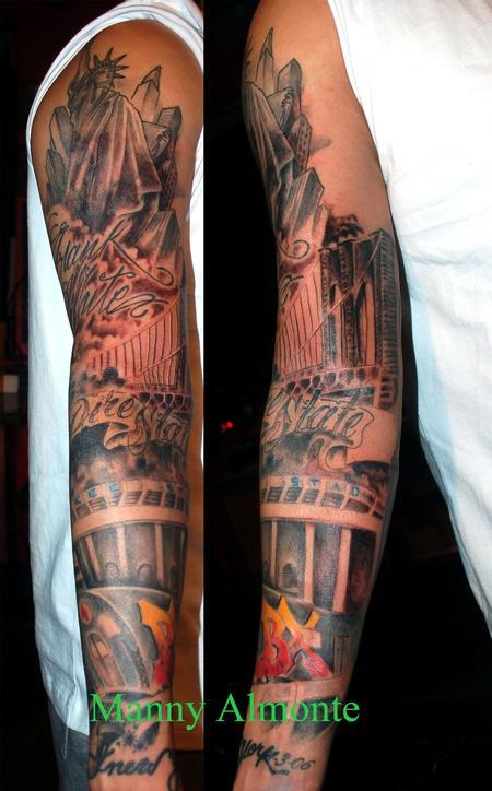 Tattoos - Bronx sleeve - 79578