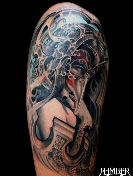 Tattoos - Masked Woman - 71922