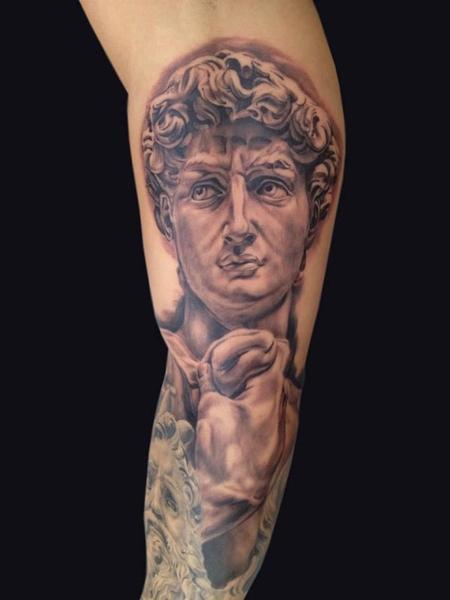 Tattoos - Michelangelo's