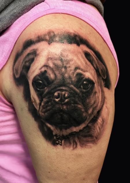 Tattoos - PUG LIFE - 101411