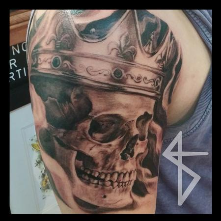 Tattoos - Death King - 112240