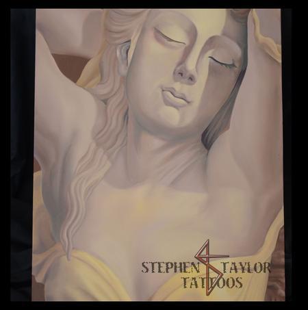 Tattoos - Greek Statue - 101064