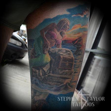 Tattoos - Mermaid - 108324