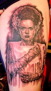 Tattoos - Bride of Frankenstein - 14931