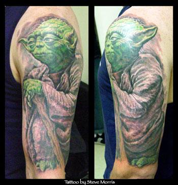Tattoos - Yoda - 16690