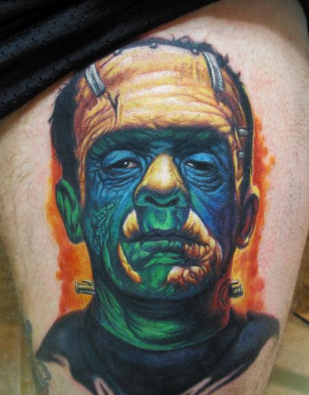 Steve Wimmer - Frankenstein Color Portrait