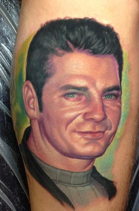 Steve Wimmer - Color portrait of Clients Uncle