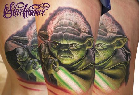 Star Wars Yoda Tattoo Design Thumbnail