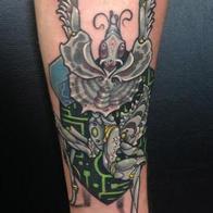 Tattoos - robotic devil mantis - 86595
