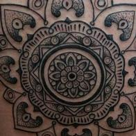 Tattoos - mandala blackwork - 93715