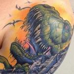 Tattoos - dinosaurs detail - 99314