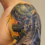 Tattoos - dinosaurs detail - 99318