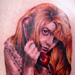Tattoos - scream queen - 31647