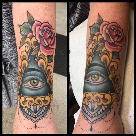 Tattoos - All Seeing Eye - 134962