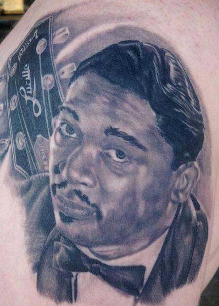 Tattoos - BB King Tattoo - 81135