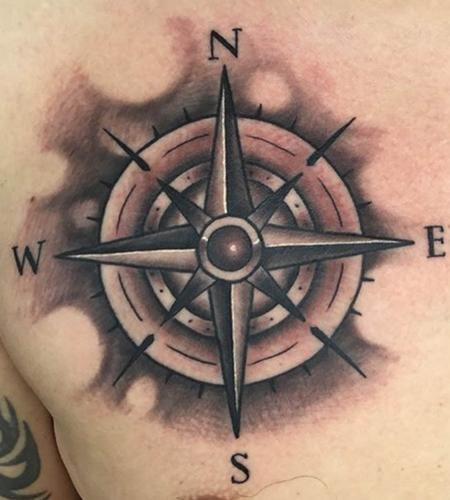 Tattoos - Compass - 134947