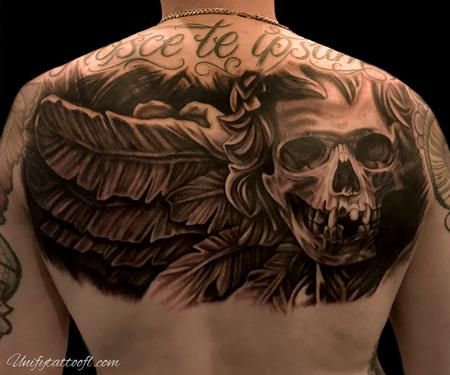 Tattoos - Death Awaits Tattoo - 134806