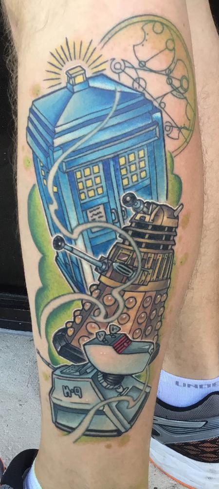 Tattoos - Doctor Who Tattoo - 134949
