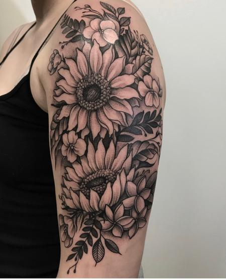Tattoos - Floral Bouquet - 138825