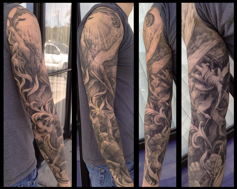 Tattoos - Gustave Dore sleeve - 89071