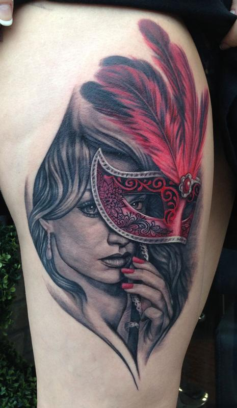 Tattoos - Masquerade Tattoo - 89631