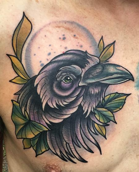 Tattoos - Night Raven - 134940
