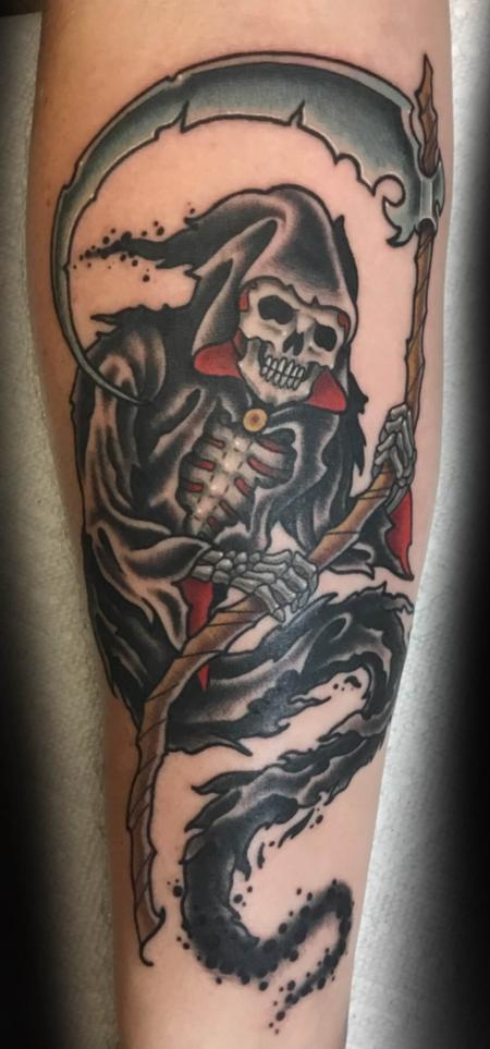 Tattoos - Reaper Tattoo - 134957