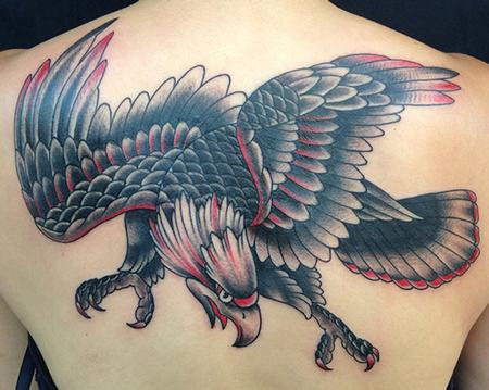 Tattoos - Traditional Eagle - 100217