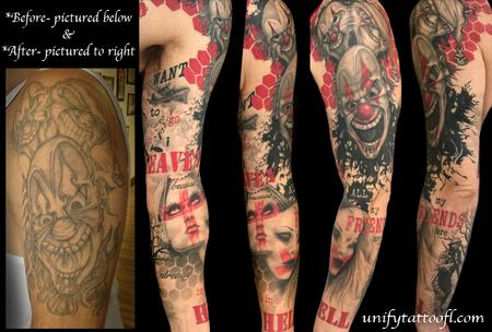 Tattoos - Trash Polka Heaven/Hell - 120576