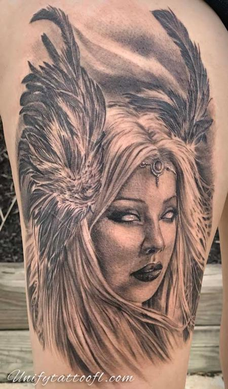 Bart Andrews - valkyrie tattoo