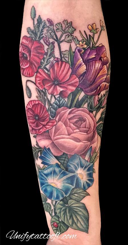 Tattoos - Vintage Floral - 134811