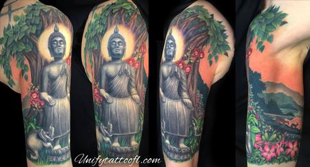 Tattoos - Wednesday Morning Buddha - 120578