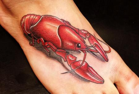 Tattoos - Crawdad Tattoo - 125369