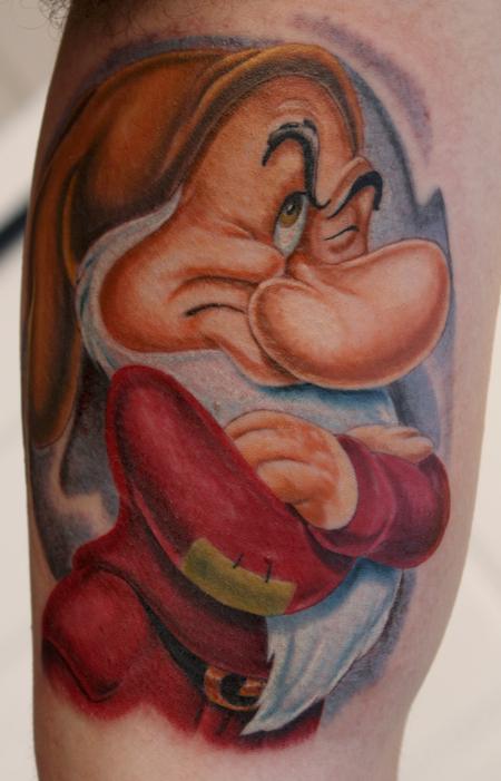 Tattoos - Grumpy dawarf tattoo - 74876