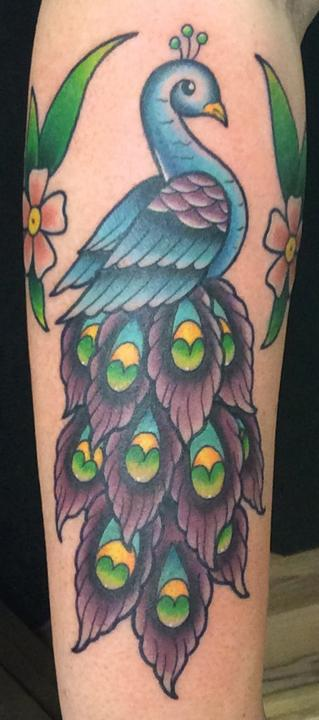 Tattoos - Peacock Tattoo - 125372