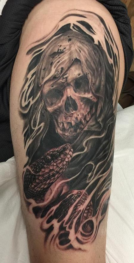 Tattoos - Reaper and Snake - 117062