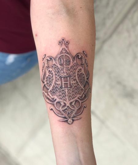 Tattoos - Harry Potter Lace Tattoo - 139723