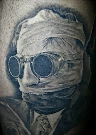 Invisible Man Tattoo Tattoo Design