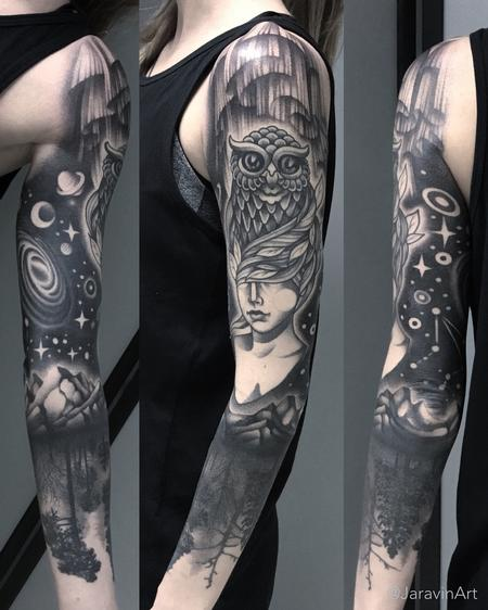 Full Sleeve Tattoo Design