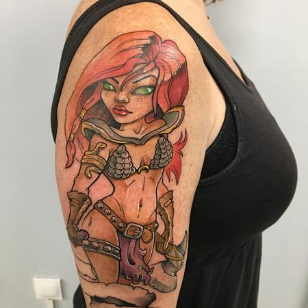 Tattoos - Red  Sonja  - 137885