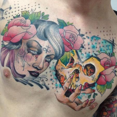 Tattoos - Day of the dead - 101869