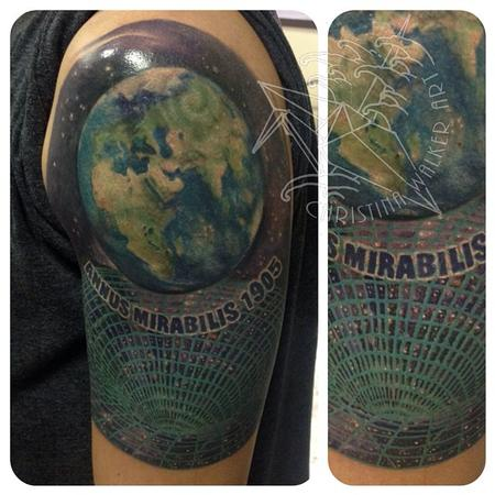 Tattoos - Earth and Gravity grid - 93544