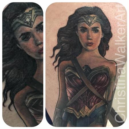 Tattoos - Wonder Woman - 129664